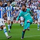 """Меси не успя да се разпише срещу """"Реал Сосиедад"""""""