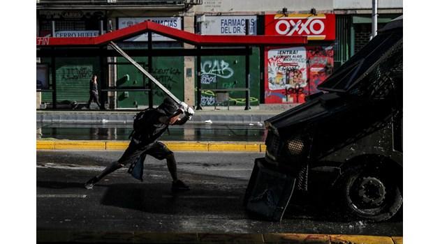 Протестите в Чили продължават повече от година
