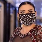 Софка носи ултраскъпа маска с диаманти