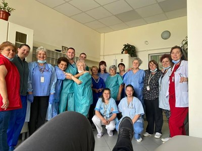 """Закрихме последното COVID-19 отделение и се молим да не се налага да го откриваме отново, съобщиха във фейсбук от най-голямата болница у нас """"Пирогов"""". Снимки: УМБАЛСМ """"Н. И. Пирогов"""""""