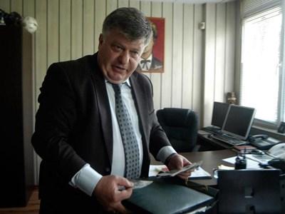 Комисар Николай Николов е шеф на втората по големина полицейска дирекция в страната.   СНИМКА: ИВАЙЛО ДОНЧЕВ