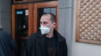 Председателят на РИК Петър Захариев.