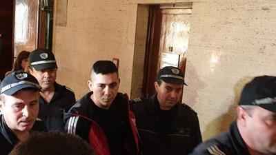Северин Красимиров в съда СНИМКА: Росен Моллов