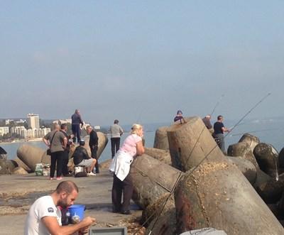 Лудото преследване на рибата по морето продължава с пълна сила.