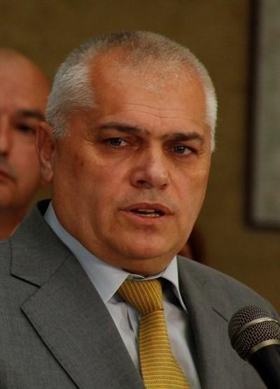 Вътрешният министър Валентин Радев