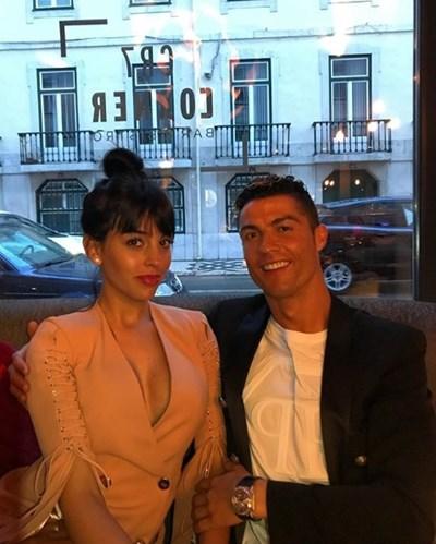 Кристиано Роналдо и Джорджина Родригес Снимка: инстаграм