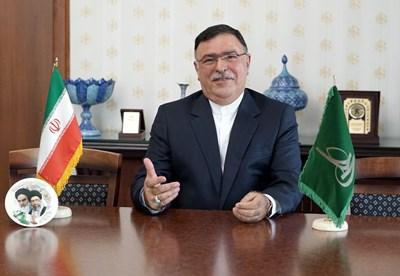 Сейед Мохаммад Джавад Расули - посланик на Иран в София СНИМКА: Десислава Кулелиева