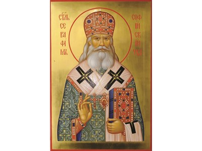 В криптата на Руската църква е гробът на архиепископ Соболев, считан от много православни християни за чудотворец.