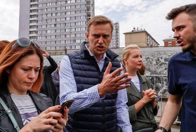 Алексей Навални Снимки: Ройтерс