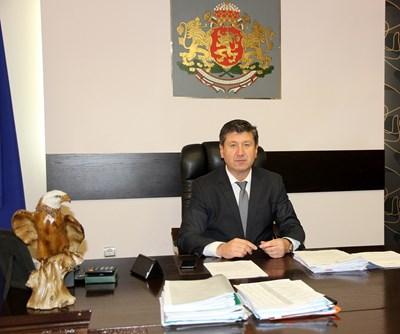 "Кметът на ""Родопи"" Пламен Спасов"