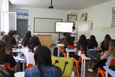 Очаква се 7-и и 12-и клас да се върнат в училище от 1 февруари. СНИМКА: Николай Литов
