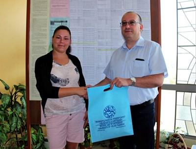 Зорница Спасова бе първата записала се в кампанията за прием на магистри