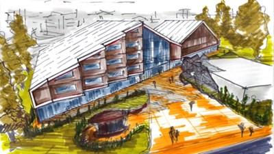 Проект за изглаждане на Младежки център в Монтана Рисунка: www.eeagrants.bg