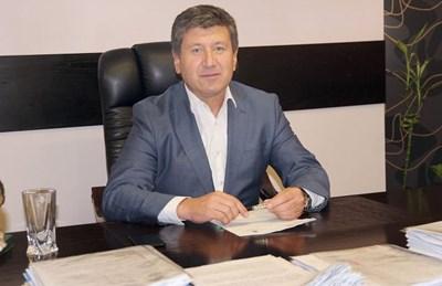 """Кметът на община """"Родопи"""" Пламен Спасов"""