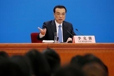 Китайският премиер Ли Къцян  СНИМКА: Ройтерс