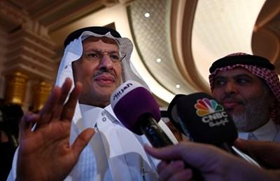 Mинистърът на енергетиката на Саудитска Арабия - принц Абдулазиз бин Салман СНИМКА: Ройтерс