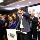 Сръбският президент Вучич след победата на Сръбската прогресивна партия Снимка: Ройтерс