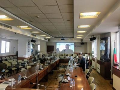 Онлайн обсъждане в КЕВР на цената на газа за юни, което се състоя на 26 май.