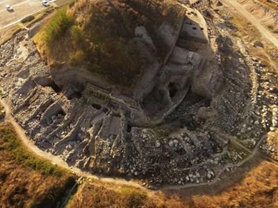 Солницата край Провадия - поглед отгоре СНИМКА: Архив
