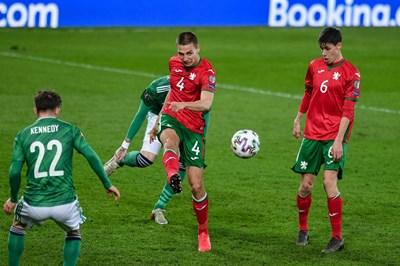 Антов се представя силно и за националния отбор