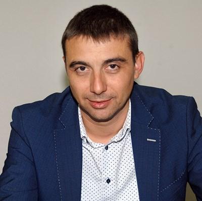"""Кметът на район """"Западен"""" Димитър Колев"""