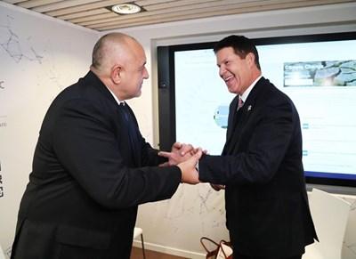 Борисов получи специална монета от Държавния департамент на САЩ
