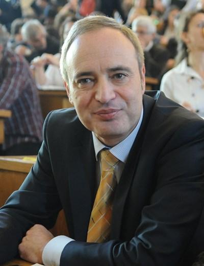 Проф. Анастас Герджиков СНИМКА: Алексей Димитров