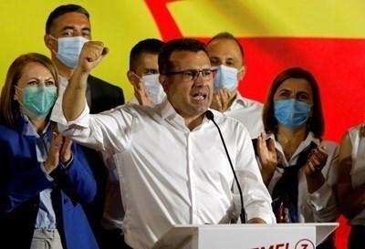 Премиерът на Северна Македония Зоран Заев СНИМКА: Ройтерс