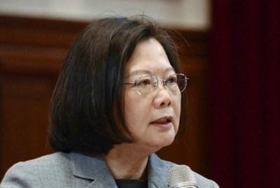 Президентът на Тайван Цай Ингвен СНИМКА: Ройтерс