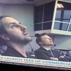 Кико Дончев, един от българите, участвали в екипа на Space X, до Илън Мъск (Снимка)