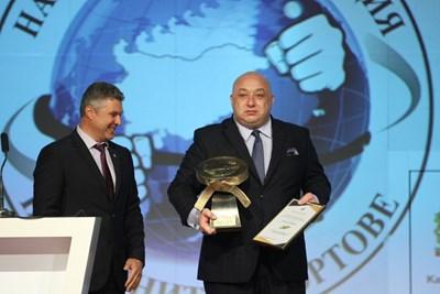 Министърът на младежта и спорта Красен Кралев СНИМКИ: Национална асоциация на бойните спортове