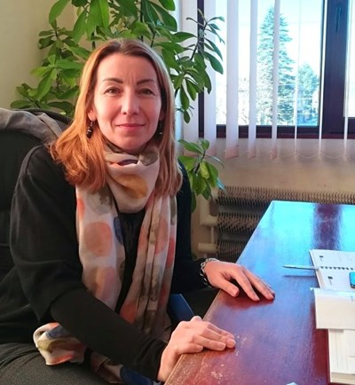 Боряна Георгиева-Русинова като кмет на Арчар. Снимка: Архив