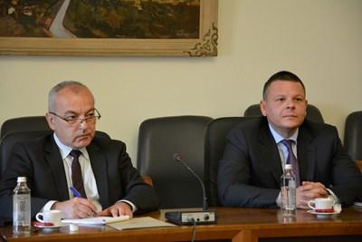 Гълъб Донев и Христо Алексиев