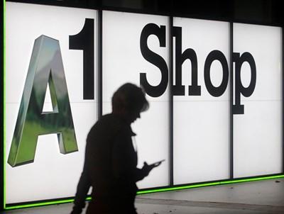 Това е брандът A1, който се използва от ТАГ в Австрия и който ще стане универсален за всички компании от групата. СНИМКА: РОЙТЕРС