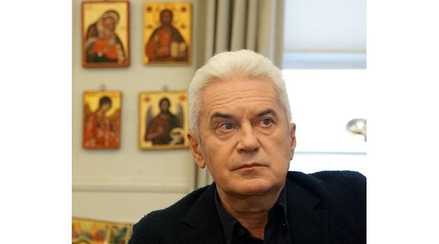Волен Сидеров: Искам да забраня гей парадите. Затова може да се кандидатирам за кмет на София