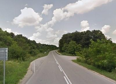 Пътят Хитрино - Венец СНИМКА: Google Street View