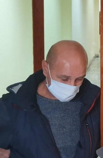 Шофьорът на тира Октавиан Бедиян в Бургаския апелативен съд   СНИМКА: FARAGENCY.BG