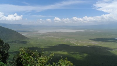 Поглед към Нгоронгоро