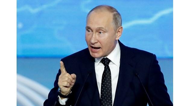 Путин смути с публичен комплимент за красотата американска журналистка