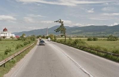 Пътят Пловдив - Асеновград СНИМКА: Google Street View