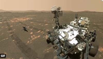 КАДЪР: NASA's Perseverance Mars Rover