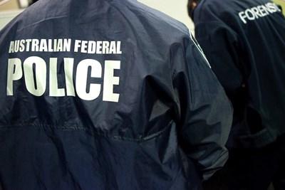 Снимка: Австралийската федерална полиция