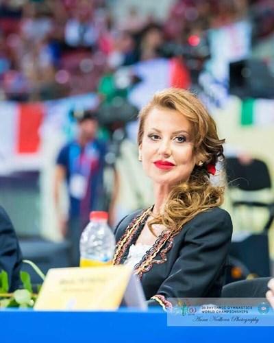 Илиана Раева Снимка: Българска федерация художествена гимнастика - Официална страница във фейсбук