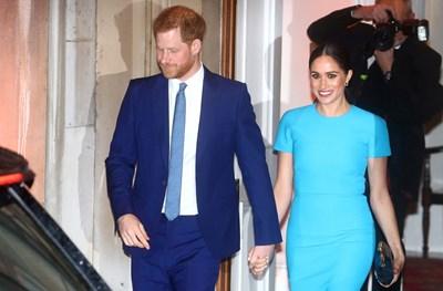 Принц Хари и съпругата му Меган Маркъл СНИМКА: Ройтерс