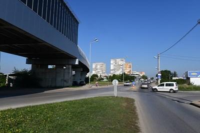 """Разширението на """"Ломско шосе"""" се планира да стартира през 2022 г.  СНИМКА:  ЙОРДАН СИМЕОНОВ"""