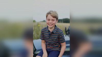 Принц Джордж стана на 8 г.