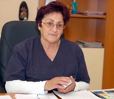 Проф. д-р Мариана Стойчева СНИМКА: Наташа Манева