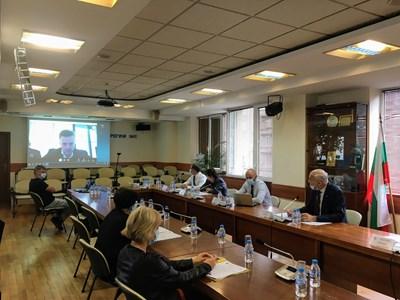 Открито заседание на КЕВР за цената на природния газ през октомври, което се проведе онлайн.