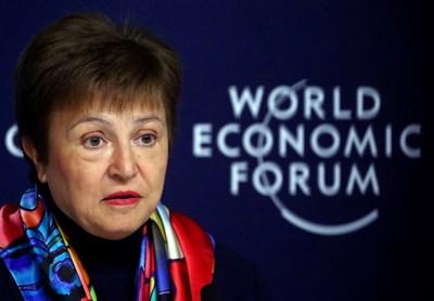 Изпълнителният директор на МВФ Кристалина Георгиева СНИМКА: Ройтерс