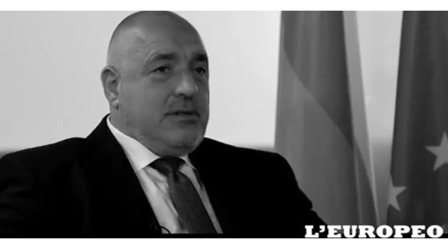 Борисов пред L'Europeo: Държавата не е играчка за политици (Видео)